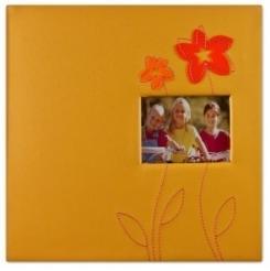Fotoalbum 10x15/200foto Decor 72 oranžový