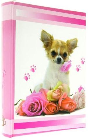 Fotoalbum 10x15/200foto B-46200S Lovely růžový