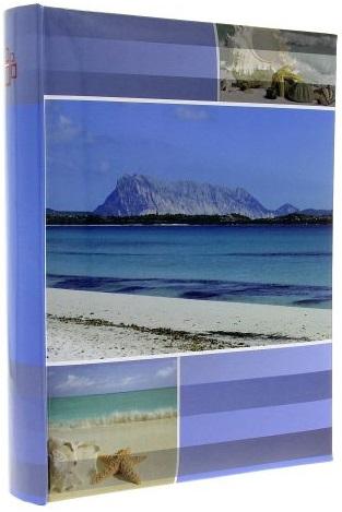 Fotoalbum 10x15/200foto B-46200S Mare modrý